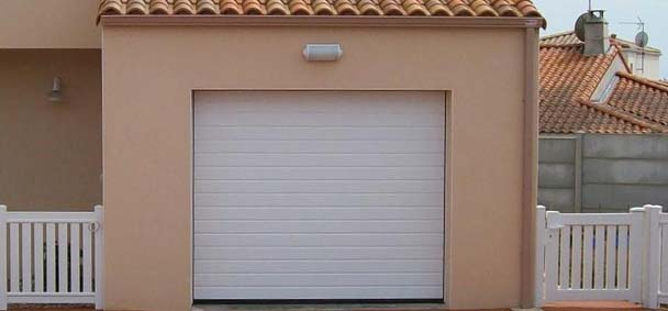 Porte de garage coulissant